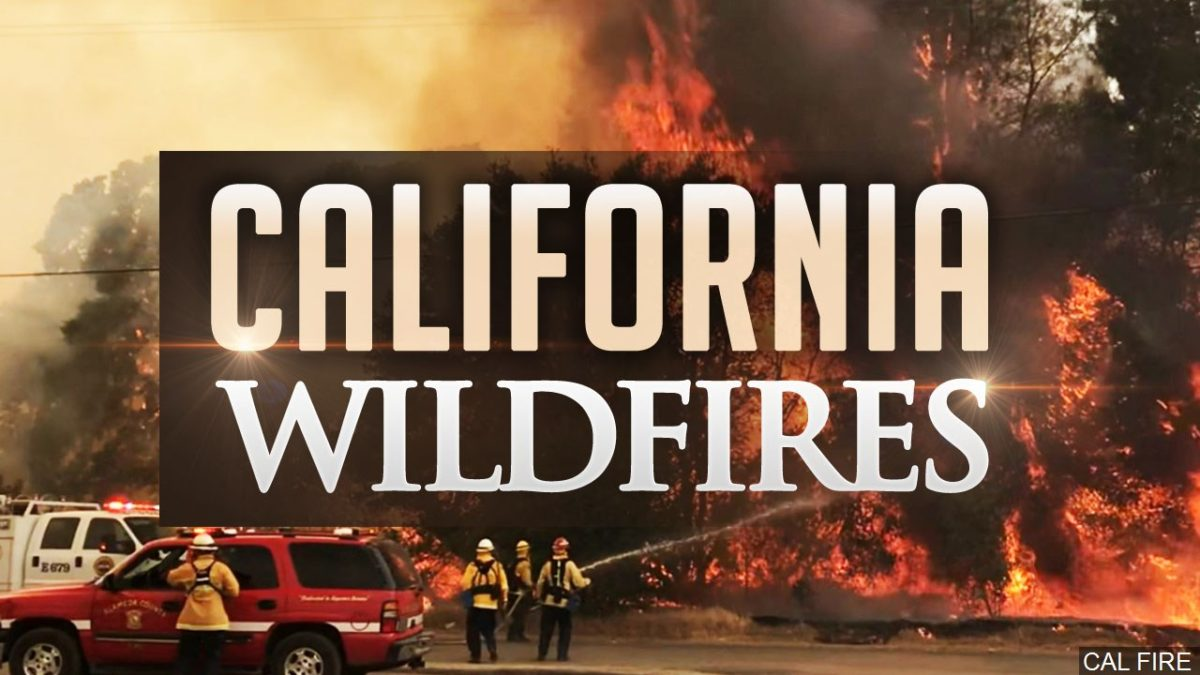 California firefighters work to protect historic observatory